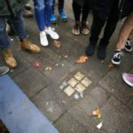 Laying a stumbling block in Krefeld as a school