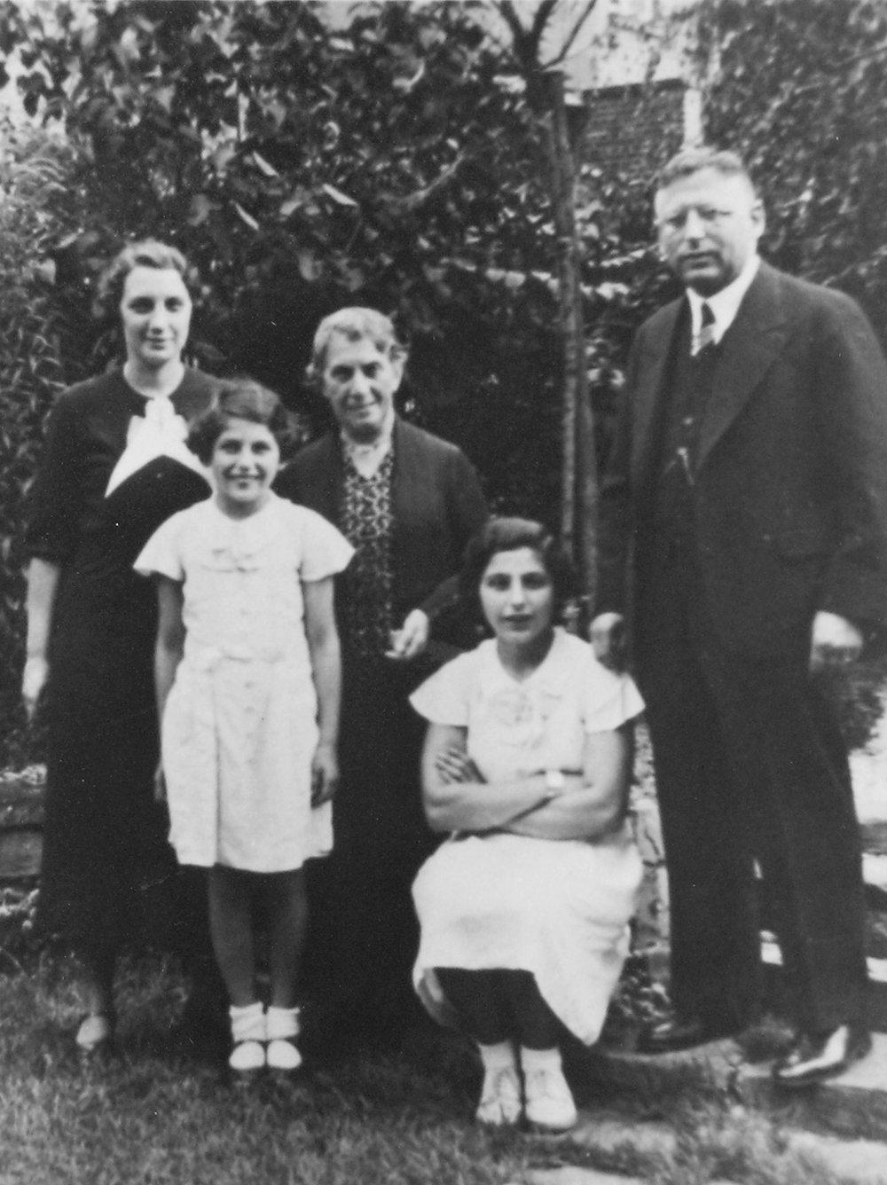 Familie Karl Meyer