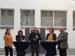 """Eröffnung der Ausstellung """"Du Jude"""" in Krefeld"""