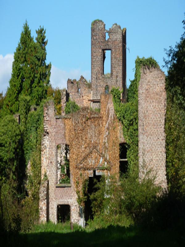 Die Schlossruine Bleijenbeek