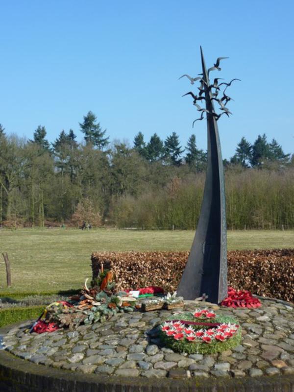 Das Kriegerdenkmal von Leudal