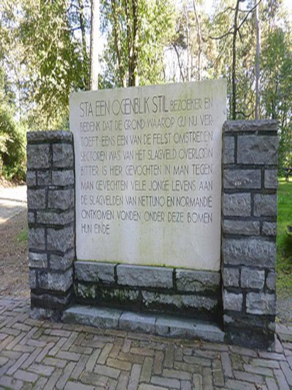 """Das Mahnmal im Kriegsmuseum """"Liberty Park"""""""