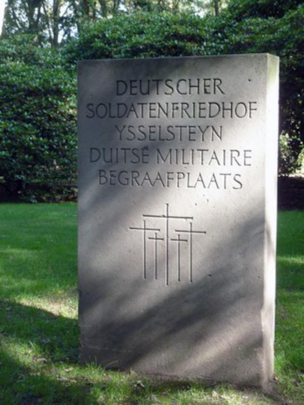 Die deutsche Kriegsgräberstätte in Ysselsteyn